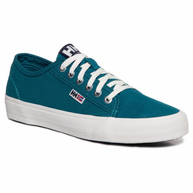 Tenisky HELLY HANSEN - Fjord Canvas Shoe V2 114-65.497 Deep Lagoon/Evening Blue/Off White