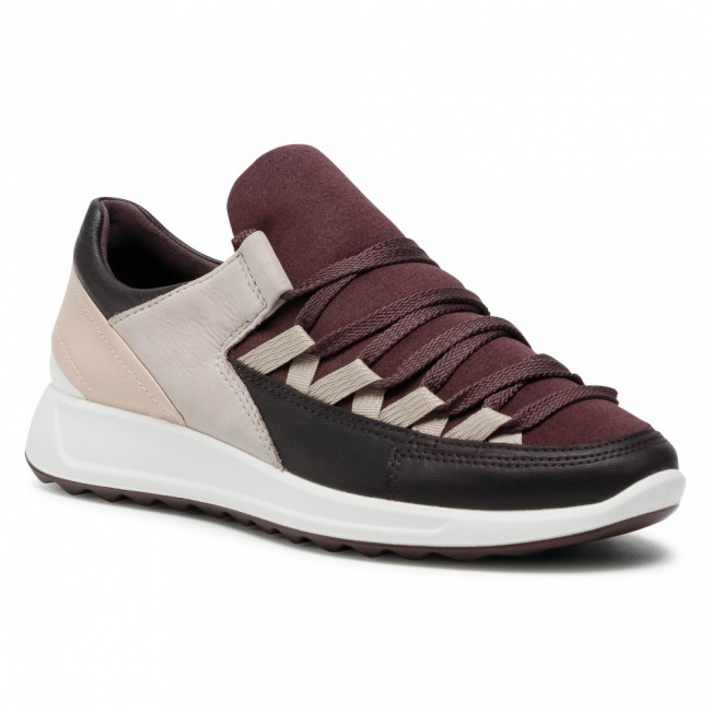 Sneakersy ECCO - Flexure Runner II 29201351582  Fig/Fig/Black/Grey Rose/Rose Dust/White