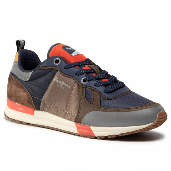 Sneakersy PEPE JEANS - Tinker Pro Sup. 20 PMS30651  Stag 884