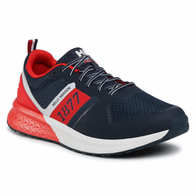 Sneakersy HELLY HANSEN - Alby 1877 Low 11621_597 Navy/Off White/Alert Red
