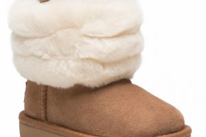 Topánky UGG - T Fluff Mini Quilted 1103612T Che