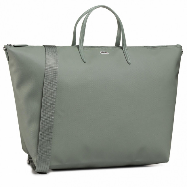 Kabelka LACOSTE - Travel Shopping Bag NF1947PO Agave Green C61