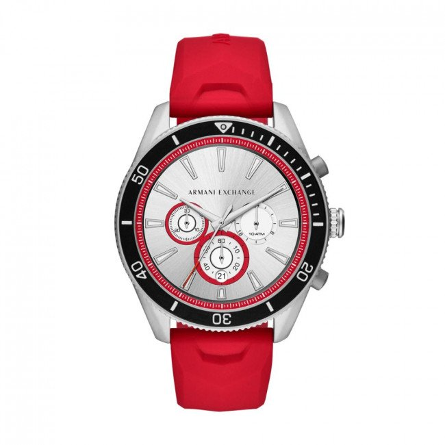 Hodinky ARMANI EXCHANGE - Enzo Chronograph AX1837 Red/Silver