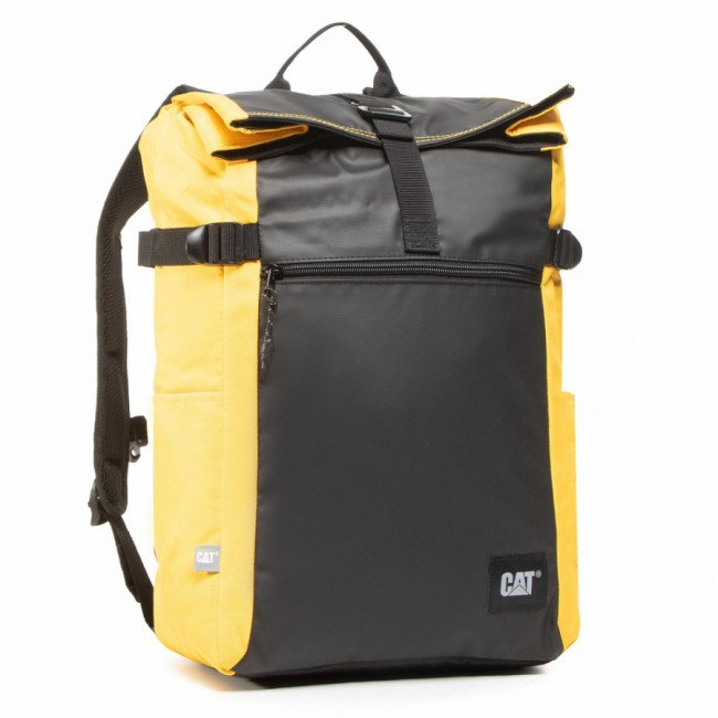 Ruksak CATERPILLAR - Dallas 83831-12 Black/Yellow