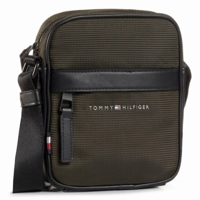 Brašna TOMMY HILFIGER - Elevated Nylon Mini Reporter AM0AM06472 MSH