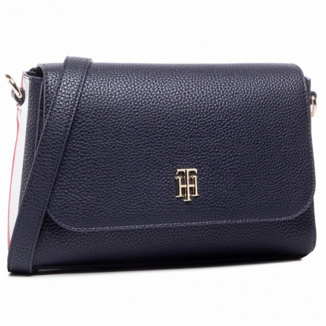 Kabelka TOMMY HILFIGER - Th Essence Flap Crossover Cropp AW0AW09036 CJM