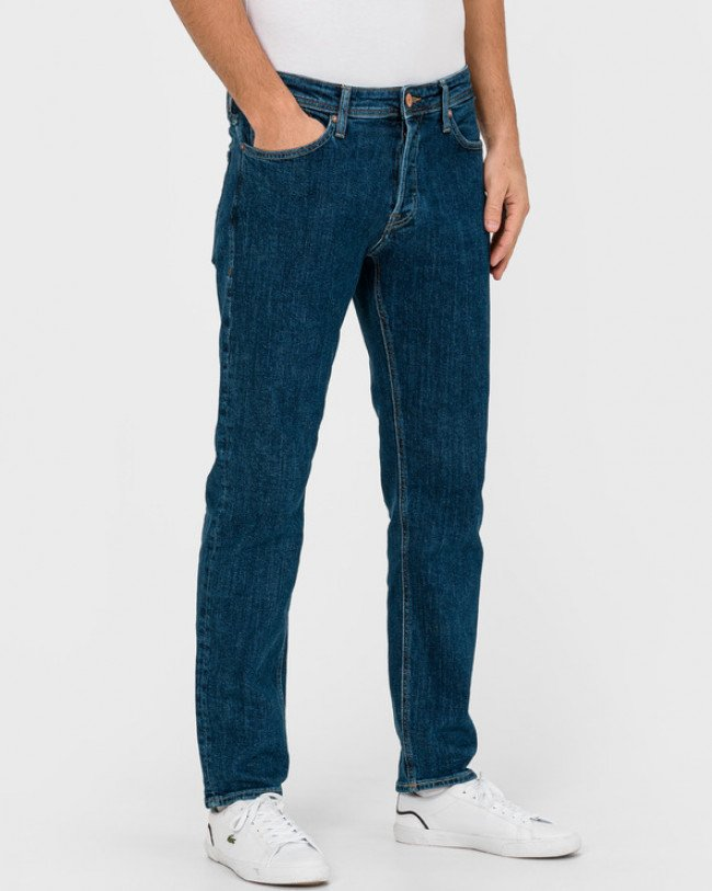 Jack & Jones Mike Jeans Modrá