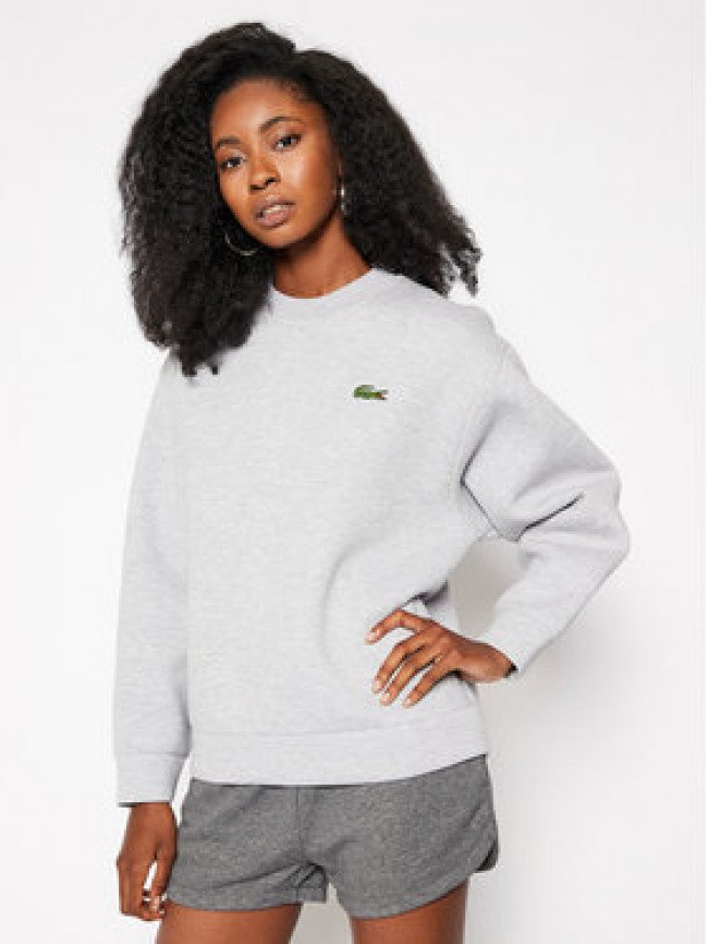 Lacoste Mikina SF6410 Sivá Regular Fit