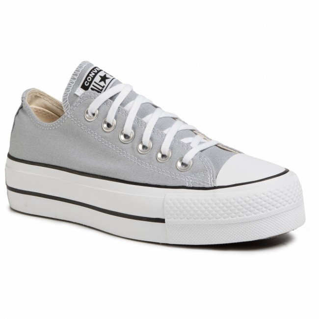 Tramky CONVERSE - Ctas Lift Ox 566757C Wolf Grey/White/Black