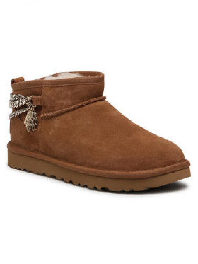 Ugg Topánky W Classic Ultra Mini Chains 1117933 Hnedá