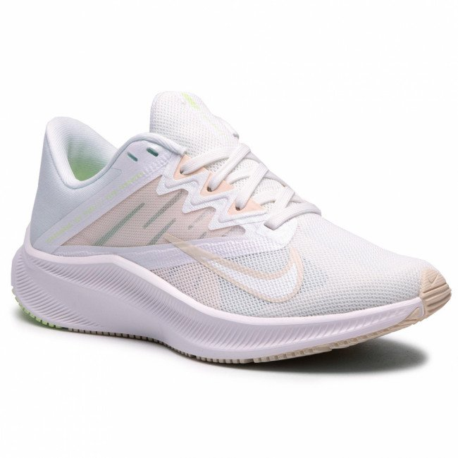 Topánky NIKE - Quest 3 CD0232 100  Summit White/Guava Ice