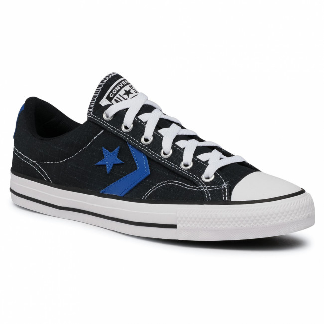 Tramky CONVERSE - Star Player Ox 167832C  Black/Game Royal/White