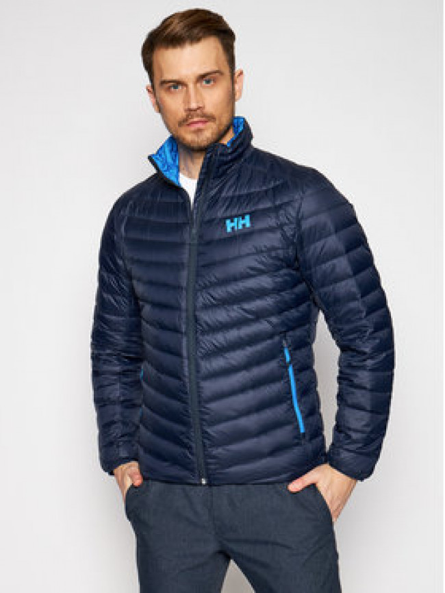 Helly Hansen Vatovaná bunda Verglas 63006 Tmavomodrá Regular Fit
