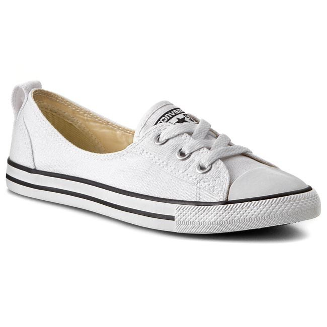 Tramky CONVERSE - Ct Ballet Lace 547167C  White