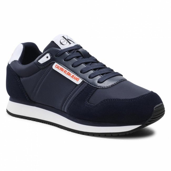 Sneakersy CALVIN KLEIN JEANS - Runner Sneaker Laceup Pu-Ny YM0YM00038 Night Sky CHW