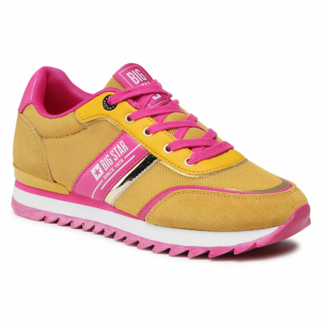 Sneakersy BIG STAR - HH274273 Yellow