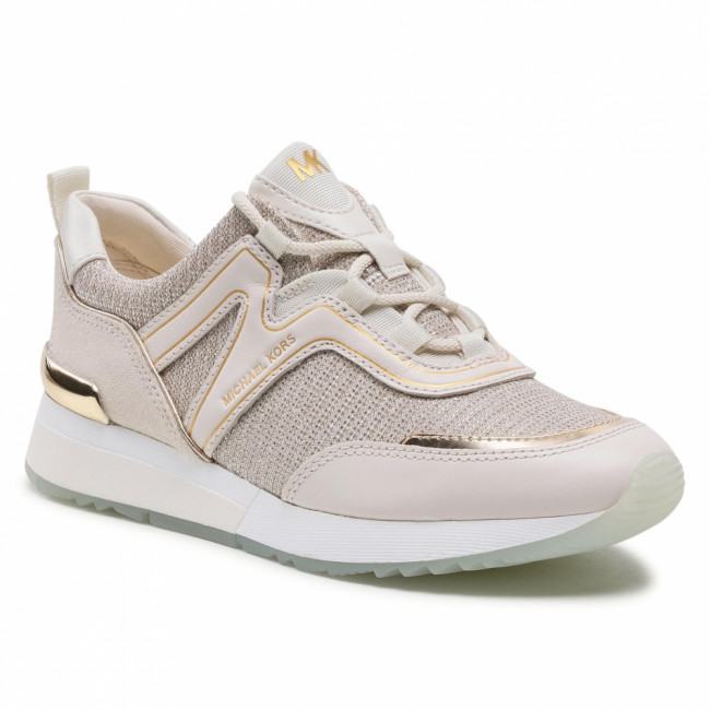 Sneakersy MICHAEL MICHAEL KORS - Pippin Trainer 43S1PIFS4D Champagne