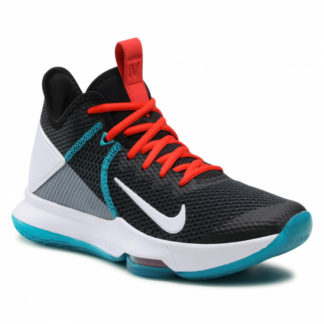 Topánky NIKE - Lebron Witness IV BV7427 005 Black/White/Chile Red