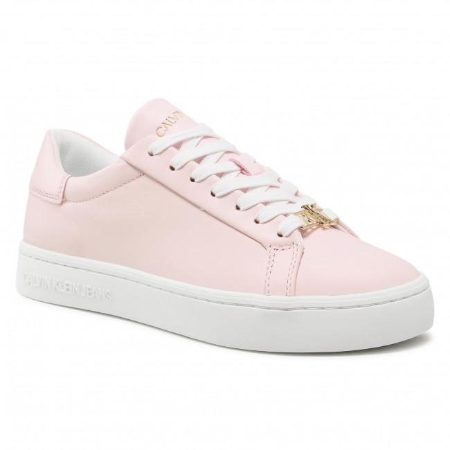 Sneakersy CALVIN KLEIN JEANS - Cupsole Sneaker Laceup YW0YW00162 Pearly Pink TN9
