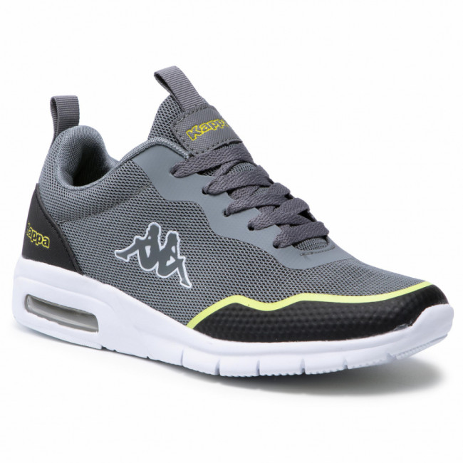 Sneakersy KAPPA - Canberra 242939  Grey/Lime 1633