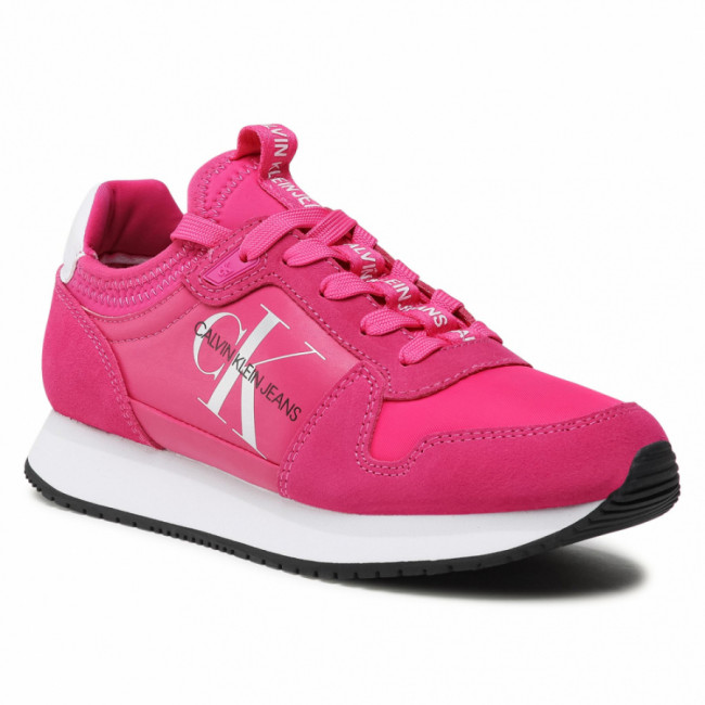 Sneakersy CALVIN KLEIN JEANS - Runner YW0YW00075 Party Pink TPZ