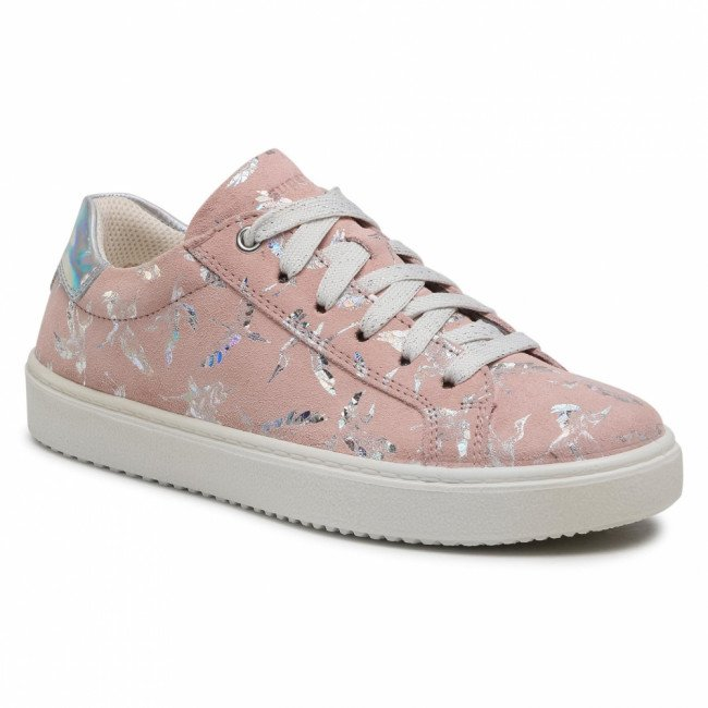 Sneakersy SUPERFIT - 1-009488-5500 D Rosa/Silber