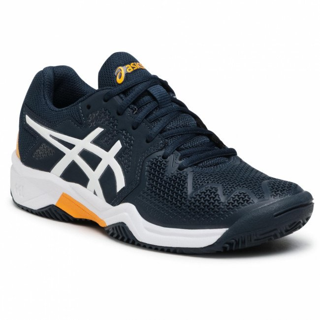 Topánky ASICS - Gel-Resolution 8 Clay Gs 1044A019 French Blue/White 403