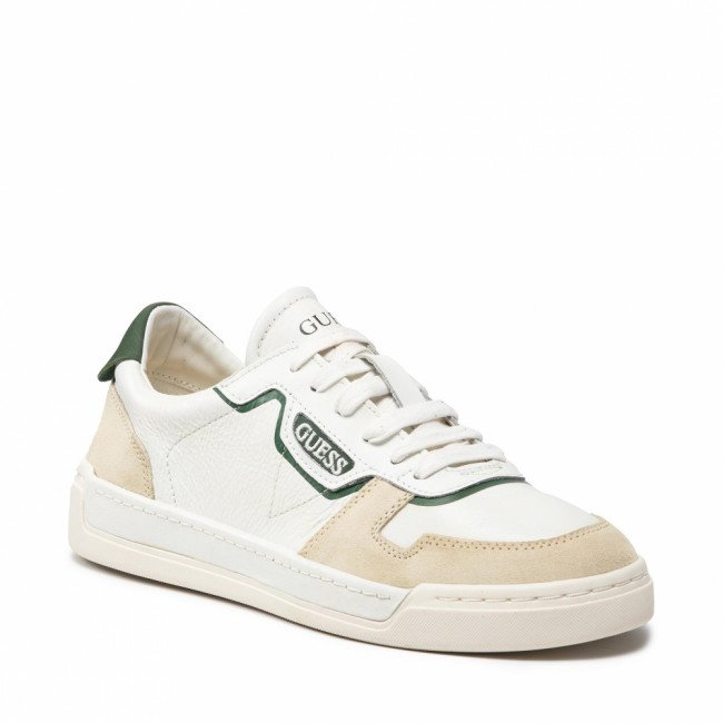 Sneakersy GUESS - Strave Vintage FM7STV LEA12 WHIGR