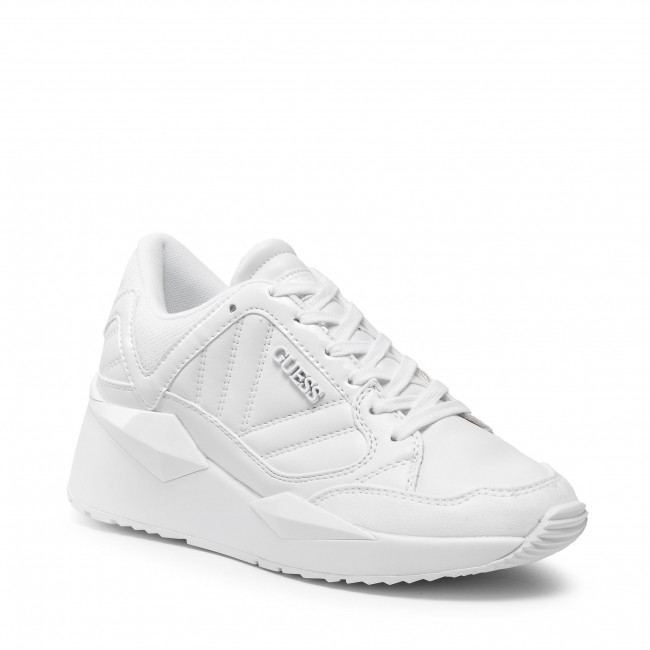 Sneakersy GUESS - Traves FL7TRS ELE12 WHITE