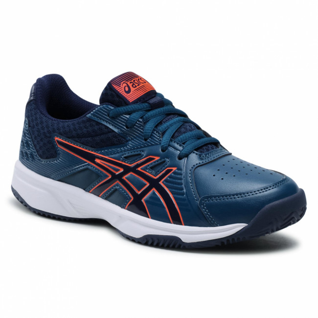 Topánky ASICS - Court Slide Clay Gs 1044A006  Mako Blue/Peacoat 413