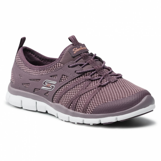 Sneakersy SKECHERS - What A Sight 23360/PLUM Plum