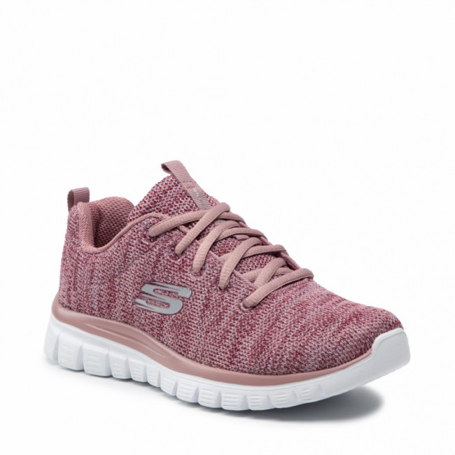 Topánky SKECHERS - Twisted Fortune 12614/MVE Mauve