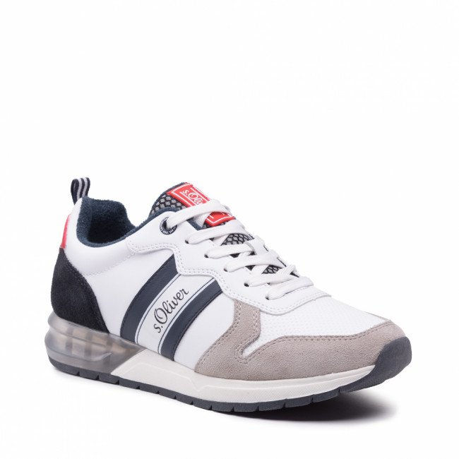 Sneakersy S.OLIVER - 5-13606-26 White Comb. 110