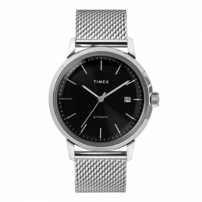 Hodinky TIMEX - Marlin Automatic TW2T22900 Silver/Black
