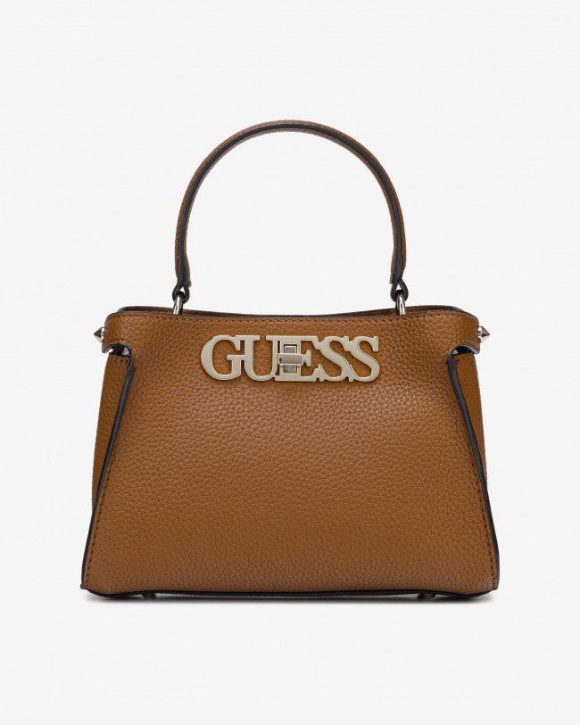 Guess hnedé kabelka Uptown Chic Small