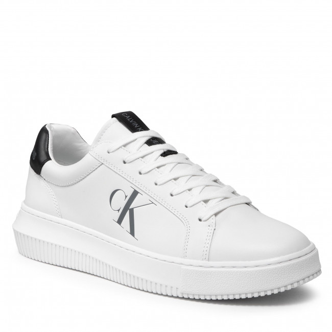 Sneakersy CALVIN KLEIN - Chunky Cupsole Laceup Sneaker YM0YM00290  Bright White YAF