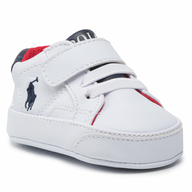 Sneakersy POLO RALPH LAUREN - Theron IV Ps RL100610 White/Navy