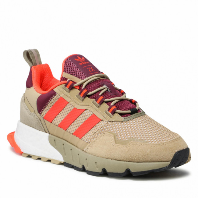 Topánky adidas - Zx 1k Boost - Seasonality H00429 Beige Tone/Solar Red/Victory Crimson