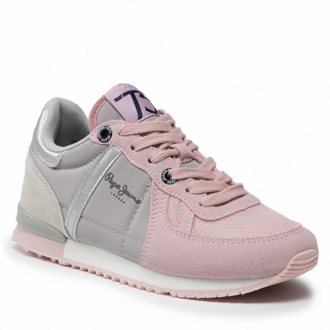 Sneakersy PEPE JEANS - Sydney Combi Girl PGS30515 Mauve Pink 319