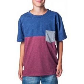 HORSEFEATHERS CAMPBELL T-SHIRT heather ruby
