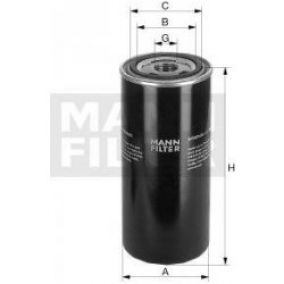 MANN-FILTER WD 940 Olejovy filter| Filter