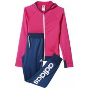 ADIDAS SEPARATES HOODED POLYESTER TRACK SUIT