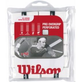 Wilson Pro Overgrip Perforated 12ks