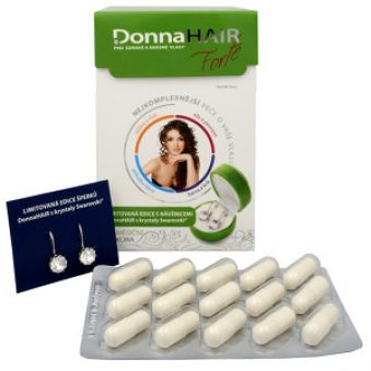 Simply You Donna Hair Forte 90 tob. + Náušnice