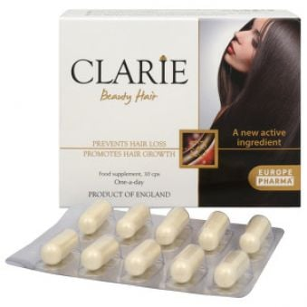 EuropePharma Clario Beauty Hair 30 kapslí AKCE + 1