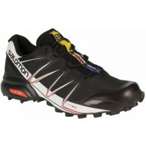 Salomon Speedcross Pro Black/White/Bright Red