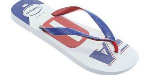 Havaianas Teams White blue Red AKCIA
