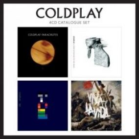 COLDPLAY: 4 CD CATALOGUE SET, CD