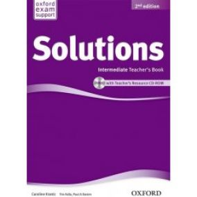 Solutions 2nd Intermediate Teacher's Book + CD ROM