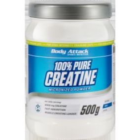 Body Attack 100% Pure Creatine 500 g